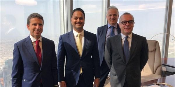 Vincenzo Cimini - Meeting con Binay R. Shetty, vice Chairman and CEO di BRS Ventures